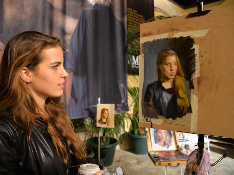 Jueves de Retrato · Barcelona Art Experience