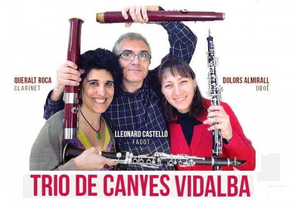 Music in the wind with Trio de Canyes Vidalba