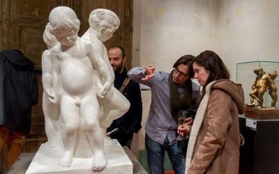 En el taller de Josep Clarà