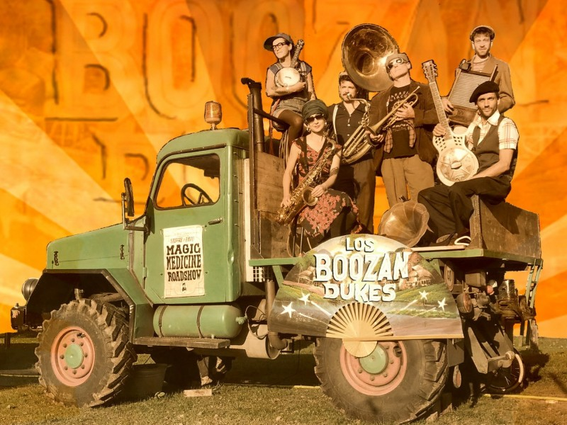 Friday's Blues & THE BOOZAN DUKES
