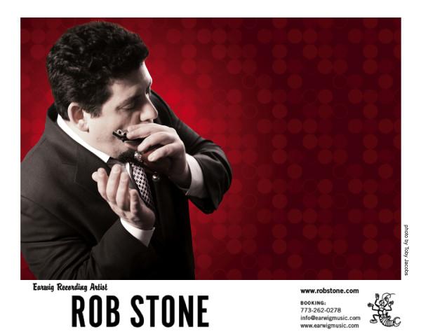 Friday's Blues & ROB STONE TRIO (USA/BCN)