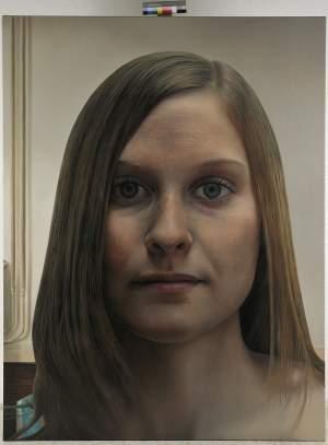'Chica con pecas', Enrique Collar                   ( , 200 x 150 )