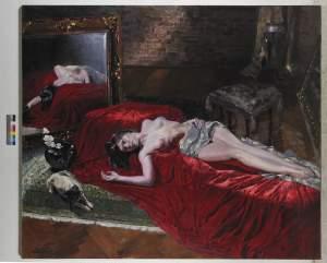 'Maja', Leskek Piotrowski               ( , 170 x 200 )