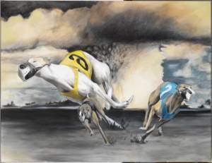 'Galgos', Oriol Moragreda Espuña         ( , 154 x 200 )