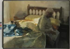 'Ocaso', José Luis Ceña Ruiz ( , 130 x 180 )