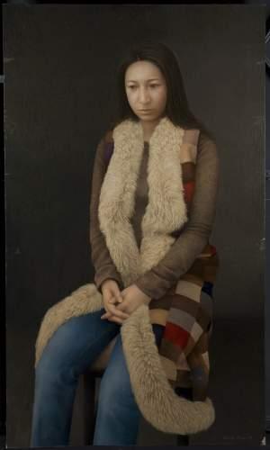 'Retrato de Tomoe', Akihito Asano ( , 170 x 100 )