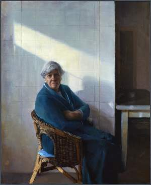 'Mother, 1979', Irene Cuadrado ( Oil on canvas, 121 x 148 cm )