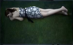 'Sobre la hierba', Ricard Chiang                   ( , 122 x 200 )