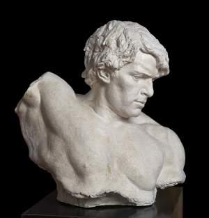 'Odysseus', Marusia Nita ( Yeso, 55 x 56 x 32 cm )