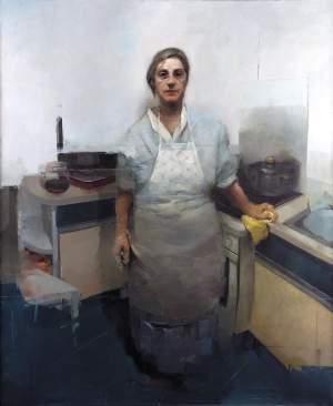 'Las manos de la experiencia', Alejandro Marco Montalvo ( , 170  x140 )