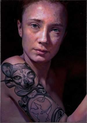 'Selfportrait', Ana Wypych ( ,  )