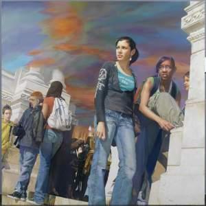 'Cita a las dos', Miguel Castillo Oñate           ( , 195 x 195 )