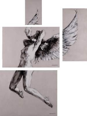 'Rhapsody', Charles Malinsky ( Óleo sobre lienzo, 144 x 110 )
