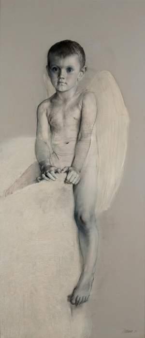 'Ángel', Doriano Scazzozi                 ( , 142 x 70 )
