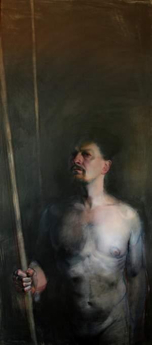 'Autorretrato', Doriano Scazzozi                 ( , 144 x 64 )