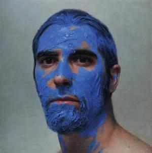 'La pintura en mi cabeza', Eloy Morales Ramiro ( Óleo sobre tabla, 160 x 160 )