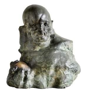 'Idealista', Grzegorz Gwiazda ( Bronce, 25 x 20 x 20 )