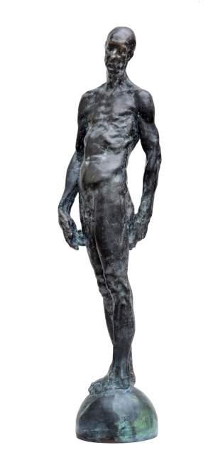 'Old', Grzegorz Gwiazda ( Bronce, 85 x 15 x 20 )