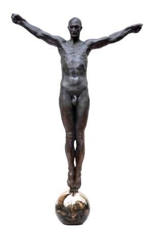 'Over the world', Grzegorz Gwiazda ( Bronze, 75 x 50 x 15 )