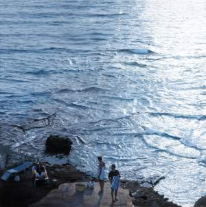 'Cala Conta-Ibiza', Javier Torices ( Mixta sobre tabla, 180 x 180 )