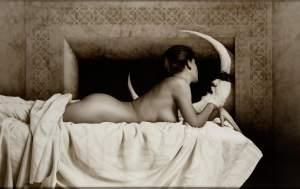 'El beso', Juan Bautista Nieto                    ( Mixta sobre taula, 100 x 170 )