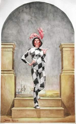 'Encanto veneciano', Juan Manuel Jaimes Roy               ( , 39 x 24 )