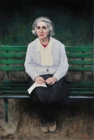 'La vecina', Felipe Alonso Xoubanova ( , 146 x 97 )