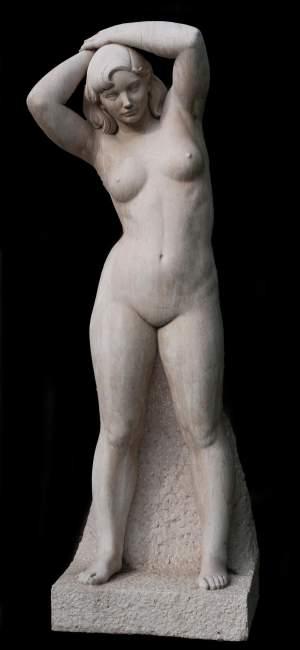 'Mediterránea', Luisa Granero                  ( Piedra, 210 x 50 x 30 )