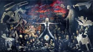 'Dresden', Martí Teixidor                 ( Óleo sobre lienzo, 280 x 500 )