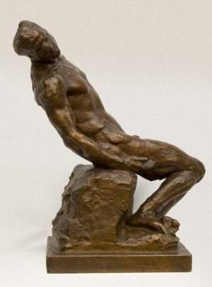 'La vaincu', RAYMOND MARTIN ( , Altura: 50cm )