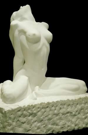 'Montse', Mer Jiménez ( Màrmol de carrara, 70 x 42 x 35 )