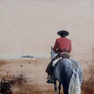 'Anselmo de camino a los Monjes', Pablo Maeso                    ( , 50 x 50 )