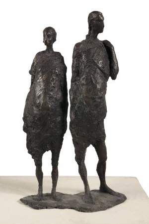 'Return', Monika Slomczynska ( Bronze, 55 x 30 x 15 )