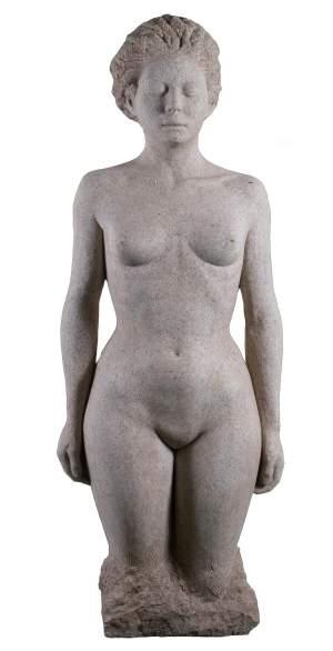'Ainé', Xesús Méndez Padín             ( Granito, 135 X 50 X 30 )