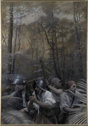 'La crisis', Mikel Olazábal Rodriguez       ( , 180 x 125 )