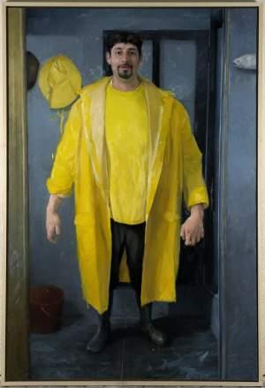 '05:00 am', Jordi Díaz Alamà ( Óleo sobre lienzo, 195 x 130 )