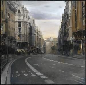 'Gran Via en silencio', Pedro Del Toro ( ,  )